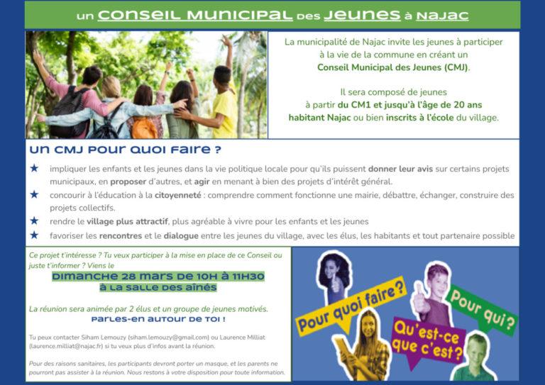 Un Conseil Municipal des Jeunes à Najac